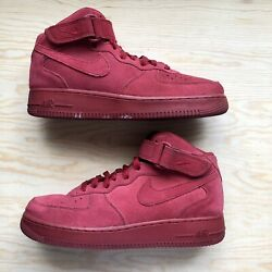 NIKE Air Force 1 Mid 07 Air Force Mid Red 315123 609 26.5cm Red Size US 8.5 $59.99
