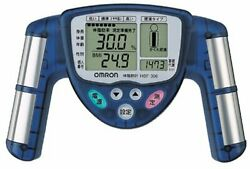 Omron body fat meter blue HBF 306 A $97.01