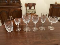 "12 Of Each Waterford ""Kildare"" Pattern Glasses $2750.00"