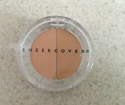 NEW amp; SEALED Sheer Cover LIGHT MEDIUM Duo Concealer 1.5g $25.95