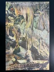 Postcard Mammoth Cave KY Chinese Wall Near Onyx Chambers Stalactites $2.95