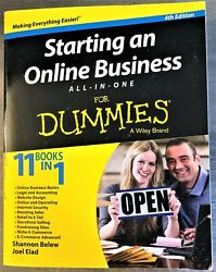 Starting an Online Business for Dummies 11 books in 1 Paperback $5.99