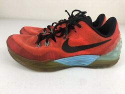 Nike Orange Zoom Kobe Bryant Venomenon 5 Clear Sole Size 10 749884 604