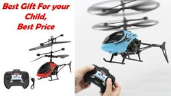 Mini RC Infrared Induction Remote Control RC Toy 2CH Gyro Helicopter RC Drone $12.99