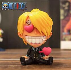 One Piece Anime Vinsmoke Sanji cute action figure $16.99