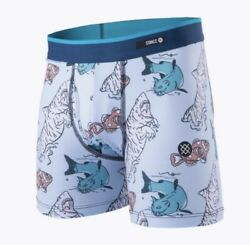 STANCE KIDS CAT FISH BOXER BRIEFS BOYS VARIOUS SIZES BRAND NEW WITHOUT TAGS $10.99