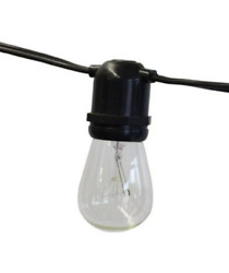 String Light Company Aspen 48 Ft Outdoor Commercial String Lights with 24 and 24