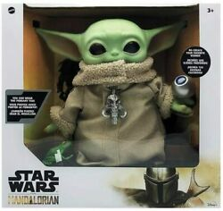 Star Wars The Child Baby Yoda The Mandalorian with 4 Accessories 12quot; Tall $52.88