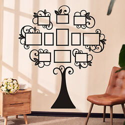 Acrylic Multi Photo Frame Home Decor Collage Frame Family Tree Picture Wall Set $24.01