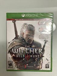 Witcher 3: Wild Hunt Xbox One ***BRAND NEW FACTORY SEALED*** bonus content $12.99