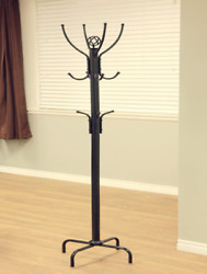 Premium Metal Tree Coat Rack Hanger Free Standing Floor With 12 Hooks 73#x27;#x27; H $34.99