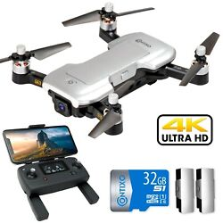 Contixo F30 Drone for Kids amp; Adults WiFi 4K UHD Camera and GPS FPV Quadcopter $157.92