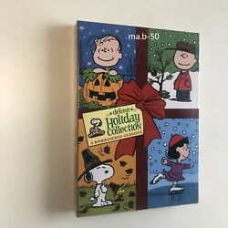 Peanuts Deluxe Holiday Collection DVD 3 Dics Christmas Halloween Thanksgiving $34.69