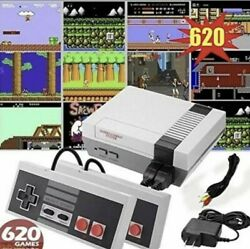 Mini Retro Game Anniversary Edition Console 620 Games Built In With Av Output $25.99