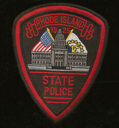 B31 RHODE ISLAND STATE POLICE PATCH Unused. $9.95