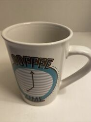 Large novelty coffee time tea hot chocolate graphic mug cup gift $10.00