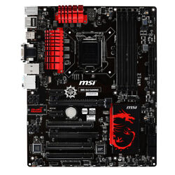 MSI Intel B85 Motherboard B85 G43 GAMING LGA 1150 DDR3 VGA DVI HDMI USB 3.0 ATX $98.99