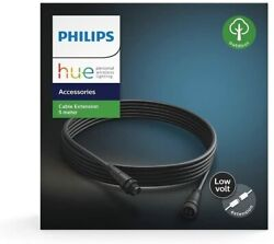 Philips Hue Low voltage Extension Cable for Calla and Lily Outdoor lights 16ft $12.99