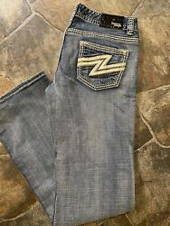 Rock amp; Roll Cowgirl Womens Low Rise Zip Fly Jeans 32 $34.99