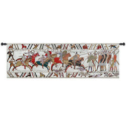 Bayeux Medieval Fine Art Tapestry Wall Hanging Living Room Deco SIGHT $49.99