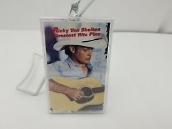 Ricky Van Shelton Cassette Tape Greatest Hits Plus Wear My Ring Around Your Neck $13.99