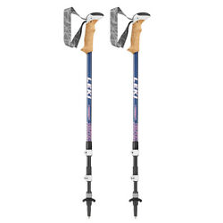Leki Poles Womens Cressida Anti Shock Blue 20% OFF $116.10
