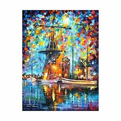 Paint by Numbers for Adults Beginners Kids DIY Canvas Acrylic Oil Painting 16x20 $8.34