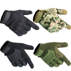 Touch Screen Motorcycle Army Tactical Gloves Military Knuckle Full Finger Gloves $14.99