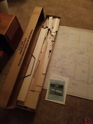 RARE BUD NOSEN TRAINER COMPLETE RC PLANE. 102quot; WINGSPAN $200.00