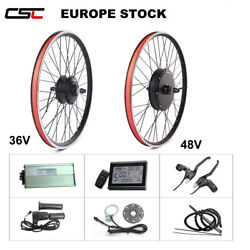 Rear Wheel Convert Electric Kit Disc V Brake Mountain Bicycle 36 48V 250W 1500W $329.00