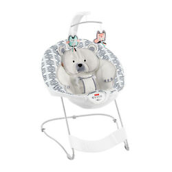 Fisher Price See amp; Soothe Deluxe Baby Bouncer Chair Hands Free NEW Damaged Box $29.99