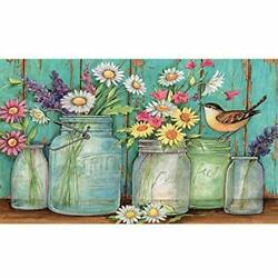 Paint by Numbers Kits Daisy DIY Canvas Painting by Numbers Acrylic Painting Kits $15.66