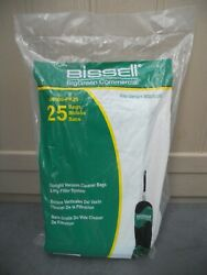 Bissell U8000 PK25 Commercial Replacement Bags for BGU8000 Vacuum Pack 25 Bags