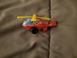 DIECAST RESCUE METAL amp; PLASTIC TOY HELICOPTER HONG KONG 2quot; X 4quot; $8.99