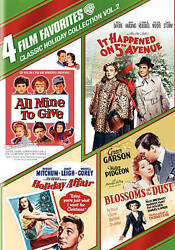 ALL MINE TO GIVE *HOLIDAY AFFAIR *IT HAPPENED ON 5TH AVENUE **BRAND NEW DVD $12.88