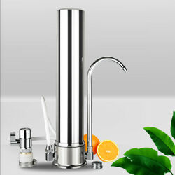 Water Purifier 1 Stage Countertop Filter Stainless Steel Ceramic filter core FDA $49.99