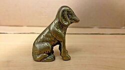 Vintage brass dog figurine $14.99