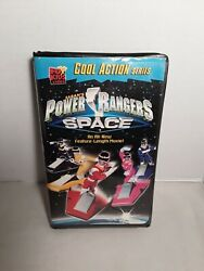 Fox Kids Video Saban#x27;s Power Rangers In Space VHS 1998 Pre owned $6.00