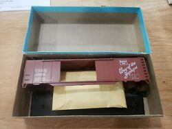 HO Athearn CBamp;Q 50#x27; Auto Boxcar 5040 48203 MISSING FLOOR WEIGHT $7.00