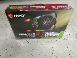 MSI Gaming GeForce RTX 2080 Super 8GB GDRR6 256 Bit HDMI DP RGB... Brand New $1190.00
