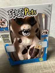 New Feisty Pets 10quot; Plush Mort the Snort Spotted Pig Free Shipping $13.95