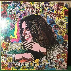 TINY TIM With Love amp; Kisses LP Concert in Fairyland 1968 Vintage Unofficial VG $9.99