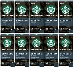 Starbucks by Nespresso Dark Roast Espresso Blend 50 Count Single Serve Capsules $24.99