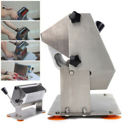 Manual Sausage Cutter Slicer 8mm thick Type 304 Stainless Steel Commercial Sale