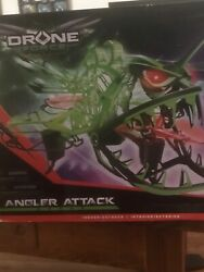 Drone Force Angler Attack 2.4Ghz Illuminated Indoor Outdoor Drone Helicopter Toy $49.99