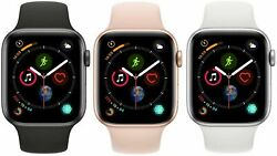 Apple Watch Series 4 40mm 44mm GPS WiFi Cellular Smart Watch All Colors $179.99