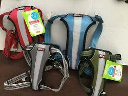 KONG dog harness comfort Reflective Padded New many colors sizes buckles $28.99