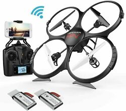 DBPOWER U818A HDFPV UPGRADE QUADCOPTER DRONE WITH HD CAMERA NEW $49.00