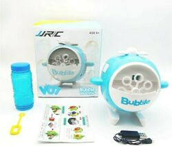 Summer Bubble Automatic Helicopter Kids Toys Electric Bubble Machine USB Charge $15.99