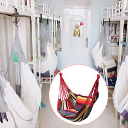 Indoor Hanging Hammock Chair Travel Camping With Cushion Outdoor Swing Bedroom $39.50